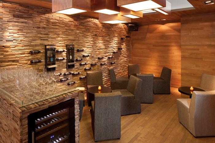 modern paneling wall