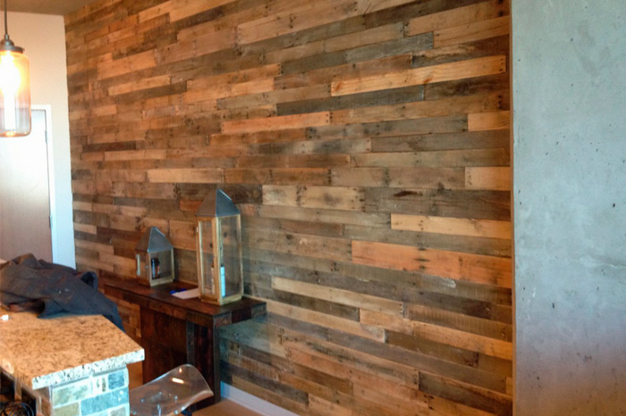 wood paneling dallas